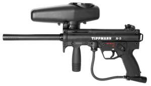 Photo Paintball Guns and packs