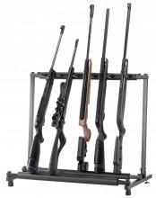 Photo Ratelier vertical en métal 5 armes