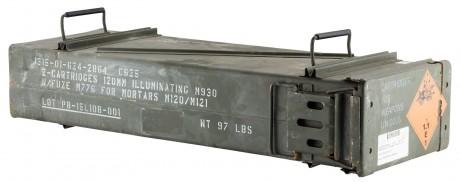 Photo Caisse à munition d'occasion 120mm