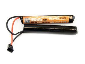 Photo Batterie NiMh 2 éléments 9,6v/1600 mAh