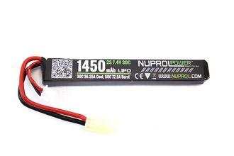 Photo Batterie LiPo stick 7,4 v/1450 mAh 30C