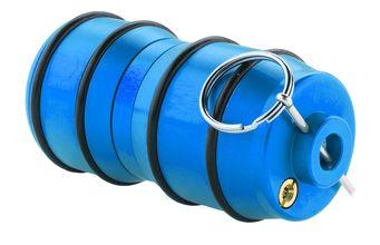 Photo Réplique grenade impact à gaz gz bleu - sport attitude