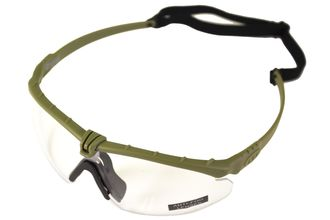 Photo Lunettes Battle Pro Thermal Vert/Clear - Nuprol