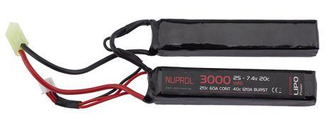 Photo Batterie LiPo 7,4 v 3000 mah nunchuck 20 c