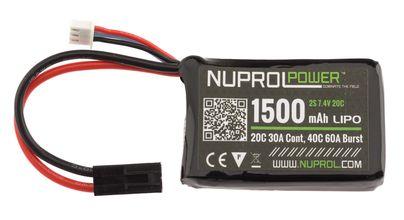 Photo Batterie LiPo micro 7,4 v/1500 mAh