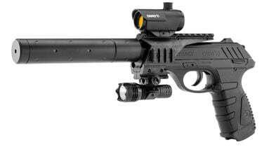 Photo Pistolet CO2 GAMO P25 Tactical blowback cal. 4,5 mm