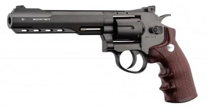 Photo Revolver CO2 Borner Super Sport 702 BB's cal. 4,5 mm