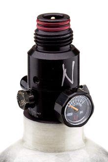 Photo Bouteille Ninja Kevlar 1. 1l grise avec régulateur ultralite 4500 psi