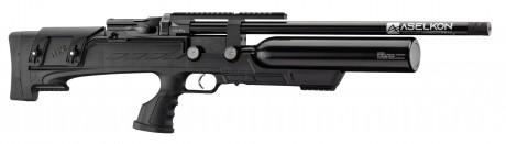 Photo Carabine à air PCP Aselkon MX8 Evoc Régulateur <19J