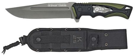 Photo Couteau de camp droit K25 vert