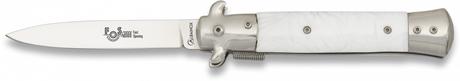 Photo Couteau pliant Albainox blanc