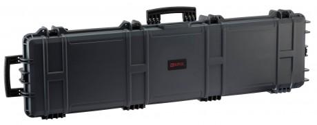 Photo Mallette XL Waterproof grise 137 x 39 x 15 cm mousse pré-découpée - Nuprol