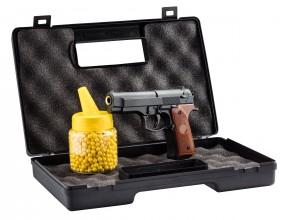 Photo Pack pistolet à ressort Galaxy G22 full metal 0,5J   mallette   billes