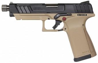 Photo Réplique GBB pistolet GTP9 gaz 0,9J Tan et Noir