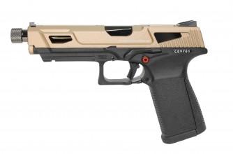 Photo Réplique GBB pistolet GTP9 gaz 0,9J MS DST Gold