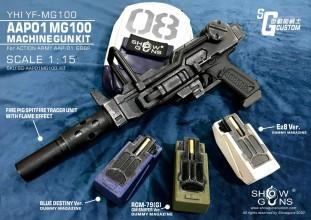 Photo C&C TAC Kit GM 08 MS Team MG100 pour GBB AAP-01
