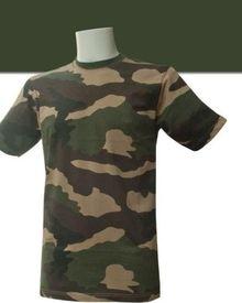 Photo Tee shirt militaire cam
