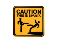 Photo Patch PVC This is Sparta