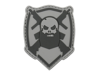 Photo Patch PVC Beard and Gun