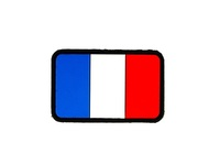 Patch PVC Drapeau France