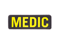 Photo PVC Medic patch Yellow and black
