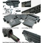 Photo Corps métal M4 sr-16 kit complet - King Arms