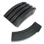Photo Pack of 5 Chargers Black 100 Strokes M4 Design AK - King Arms