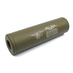 Rep silencieux Navy Seals Universel 110x30mm TAN - King ArmsRep silencieux Navy Seals Universel 110x30mm TAN - King Arms