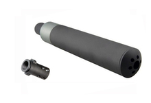 QD silencer with flame cap for Q90 - KING ARMS