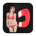 Patch PVC Babe Magnet