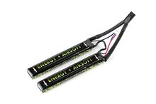 Photo Batterie LiPo 11,1v 2400mah 25c double stick solo12 - energy airsoft