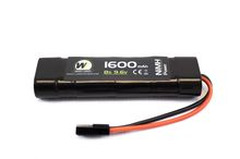 Photo Mini battery 9.6 v / 1600 mAh NiMh 1 element np