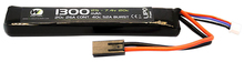 Photo Batterie LiPo stick 7,4 v/1300 mAh