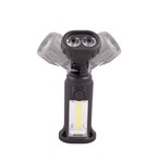 Photo Lampe double éclairage à tête rotative 150 lumens - Lumitorch