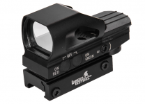 Photo Red & Green dot Reflex Sight 4 Reticles