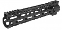 Photo Garde main M-LOK free floating 10,5' noir