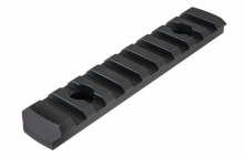 Photo Rail M-LOK 9 slots Noir