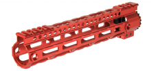 Photo Garde main M-LOK free floating 10,5' rouge