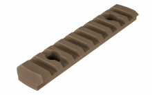 Photo Rail M-LOK 9 slots Tan