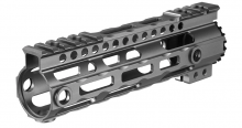 Photo Garde main M-LOK free floating 7' gris