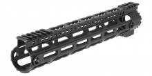 Photo Garde main M-LOK free floating 12,5' Noir