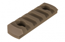 Photo Rail M-LOK 5 slots Tan