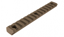 Photo Rail M-LOK 13 slots Tan