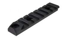 Photo Rail Keymod 7 slots avec attache sangle QD Noir