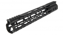 Photo Garde main Aluminium Speed Skeleton M-LOK 12' Noir