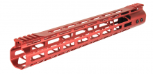 Photo Garde main Aluminium Speed Skeleton M-LOK 15' Rouge