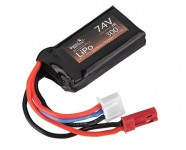 Photo Batterie Lipo 7,4V 300MaH 25C HPA