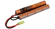 Photo Batterie Nimh 9,6V 1600mAh nunchuck