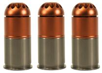 Pack of 3 gas grenades 96 bbs m203 - NUPROL