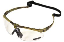 Photo Lunettes Battle Pro Thermal Camo/Clear - Nuprol